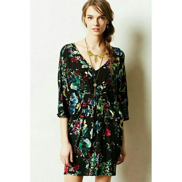 7f6fdd8a40679 Anthropologie Dresses & Skirts - Anthropologie Maeve petal palette tunic  dress